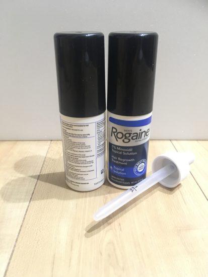 ロゲイン2本とスポイト