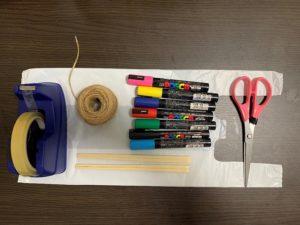 凧作りに必要な物