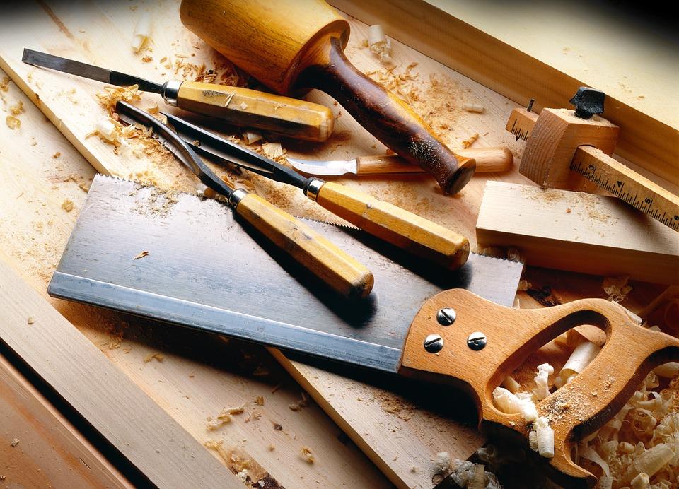 木工の工具